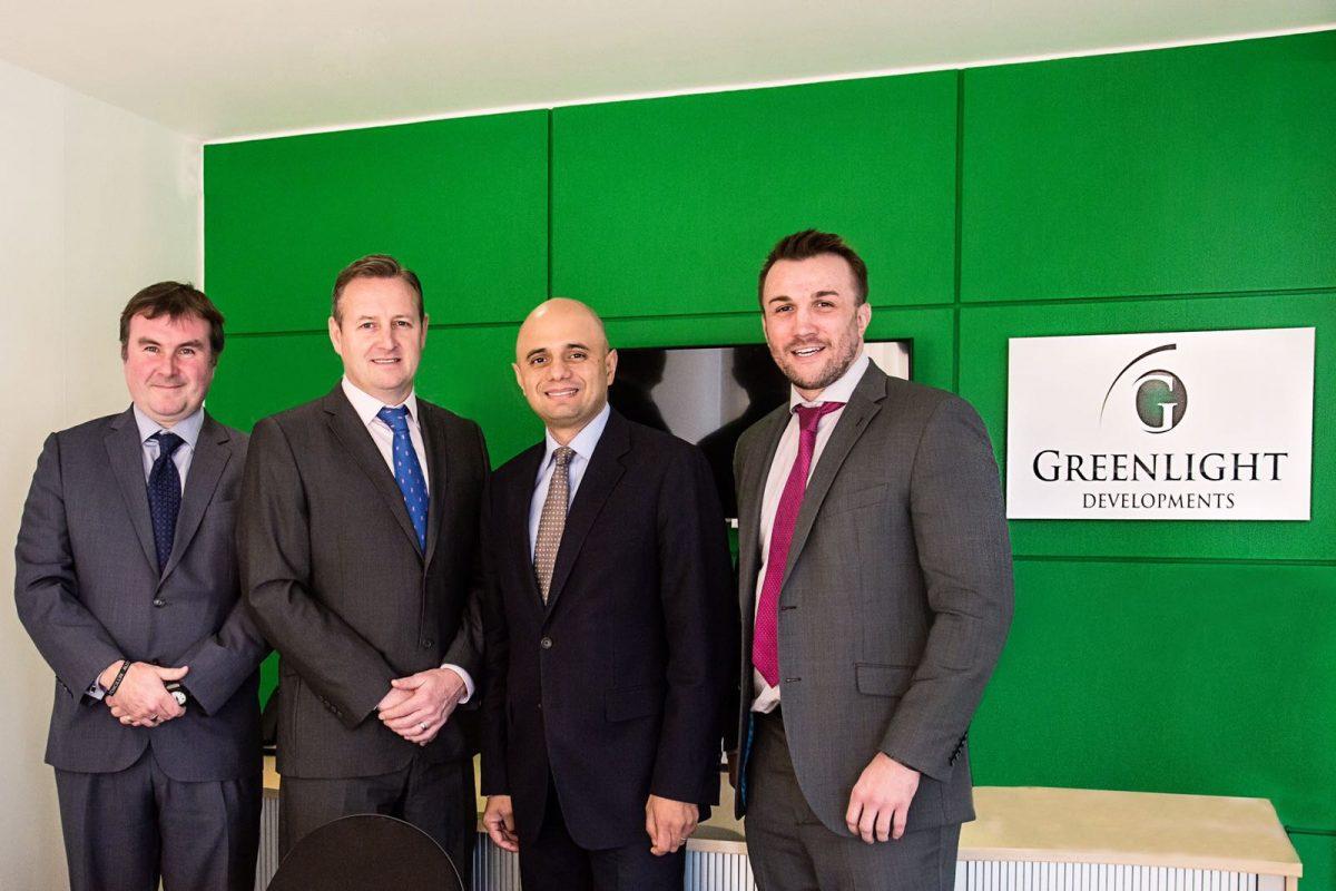 Sajid Javid Visits Greenlight Development Office